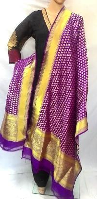 RIAA Ethnic Ikaat Pure Cotton Handloom Dress Material