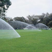 Landscape Irrigation System Installation