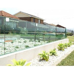 Glass Boundary Walls