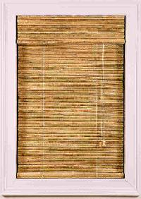 Roman Chick Bamboo Blinds