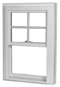 UPVC Top Hung Window