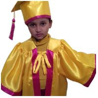 Kids Yellow Academic Gown