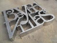 Stainless Steel Letter Sign Board