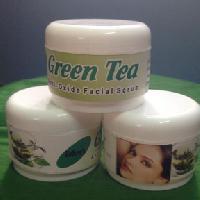 Zohras Green Tea Face Scrub