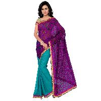 Half Fancy Designer Saree