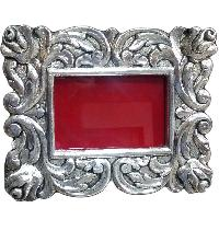Silver Coated Wooden Photo Frames