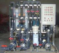 Automobile waste water recycling plant