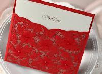 Oriental Wedding Card
