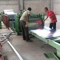 Automatic Galvanized Sheet Cutting Machine
