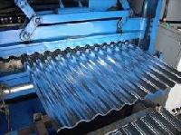 galvanized roofing sheet cutting machine