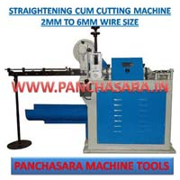 Straightening Cum Cutting Machine