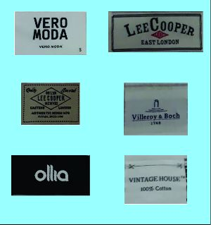 Woven Labels Manufacturers Suppliers