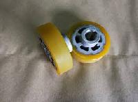 Yellow Rubber Roller