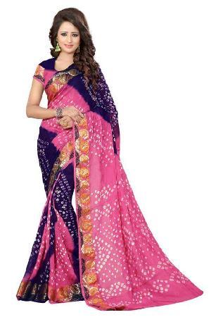Fancy Bandhej Sarees