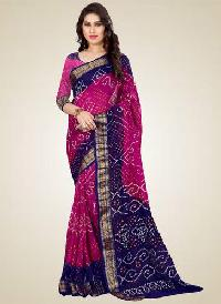 Party Wear Bandhani Sarees