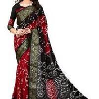 Silk Bandhani Sarees