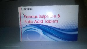 Ferrous Sulphate & Folic Acid Tablets