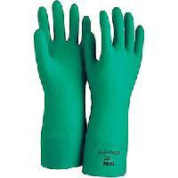 Nitrile Flocklined Gloves