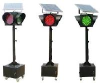 Solar Base Traffic Signal Lights