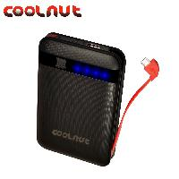 Mobile Power Banks Portable Charger COOLNUT External Battery 12500mAh For Smartphones