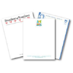 Letter Pad Screen Printing Services