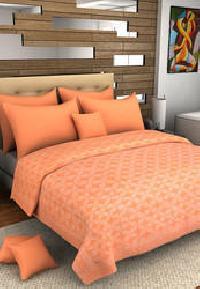 Applique Silk Bed Cover