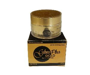 Glowing Glow Plus Gold Skin Whitening Cream