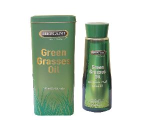 Hemani Shiny Healthy Hair Green Grass Oil