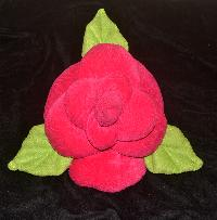 Cushions - Red Rose