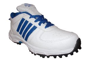 Port Unisex Booster White Cricket Shoes