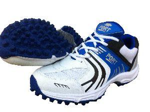 Port Unisex Rezzer White Cricket Shoes