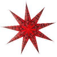 Handmade Paper Star String lamp