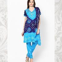 Bandhej Churidar Suits