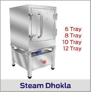 Steam Dhokla Making Machine