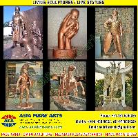 Fibre Statues Sculpture manufacturers exporters in india pun