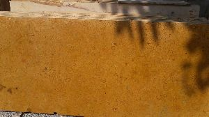 Jaisalmer Flowery Gold Yellow Marble Slab