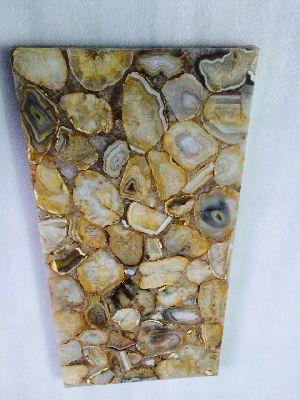 Semi Precious Marble Slab