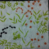 Embroidered Cushion Cover(klra-601)