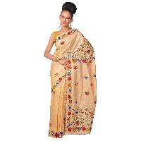 Hand Embroidered Bengal Handloom Saree