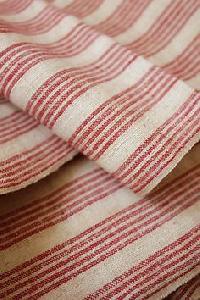 Cotton Woven Striped Fabric
