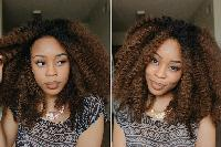 Half Lace Weave Hair Wig