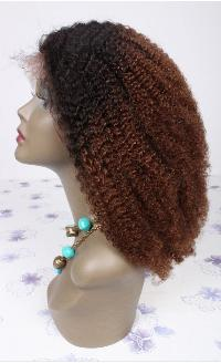 Kinky Curly Machine Weft Hair