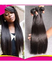 Virgin Straight Machine Weft Hair