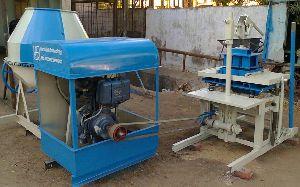 Block Vibrator And Mixer Machine