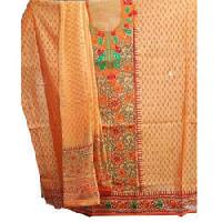 Unstitched Chanderi Suits