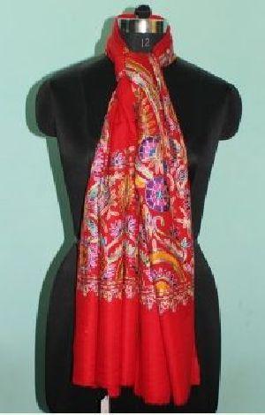Printed Wool Silk Stoles