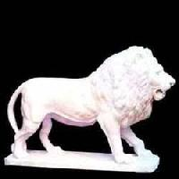 White Marble Animal Statue