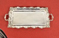 Silver Rectangular Trays