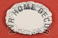 AVR-3021 Silver Charger Plate