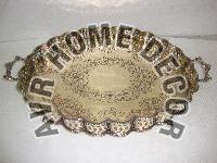 Brass Oval Trays
